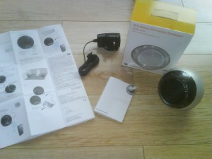 Sony Ericsson MBS-200 Portable Bluetooth Speaker