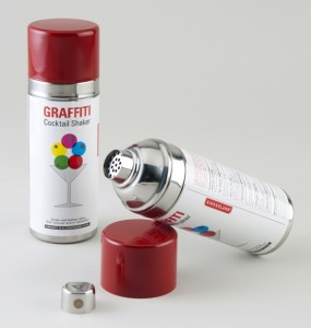 The Graffiti Cocktail Shaker
