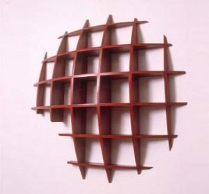 The Spacejunk Sculptural shelf unit