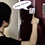 A Fridge Magnet That Records Your Messages