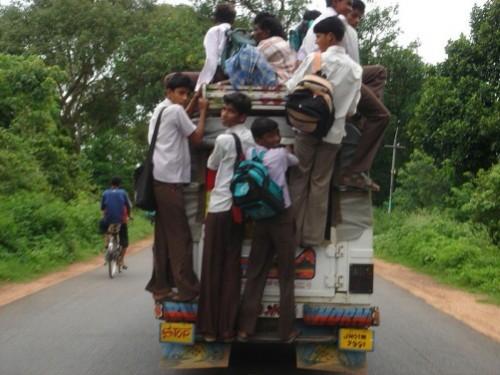 Take the kids to school