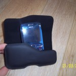 BlackBerry Curve Leather Holster Black_4