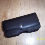 BlackBerry Curve Leather Holster Black_5