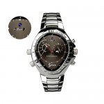 Watch Camera – 720p HD Video Recording Capability. Stylish Chrome Finishing. 4gb Internal Memory. Your Perfect Spy Watch. Video Recordings Only. With genuine SPHERE logo imprint.