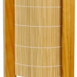 Best Gifts Under 25 Dollars – 13″ Kago Bamboo Matchstick Asian Lantern Oriental Lamp – Honey 2011