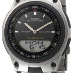 Casio Men's Ana-Digi AW80D-1AV 10-Year Battery Bracelet Watch