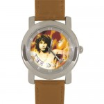 The Doors – Morrison Flames Brown Watch Leather Band