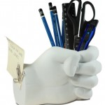 Tech Tools Desktop Madness Series Hand Pen Holder with Magnetic Back (HS-8040)