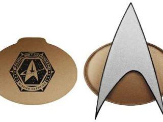 Star Trek Next Generation 2021 Bluetooth Communicator Badge - TNG Bluetooth Combadge with Chirp Sound Effects, Microphone & Speaker – Star Trek Memorabilia, Gifts, Collectibles for StarTrek