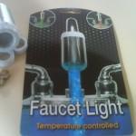 Temperature Control Faucet Light