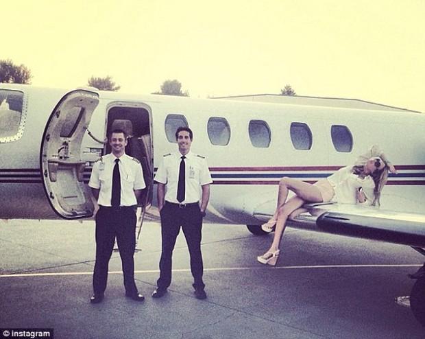 tiffany_trump_plane