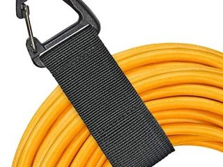 Heavy Duty Storage Strap (8 Pack),Garage Organization and Extension Cord Organizer withTriangle Buckle,(Two Sizes) for Warehouse,Hoses,Cables,Ropes,Cords Hanger, Home and More