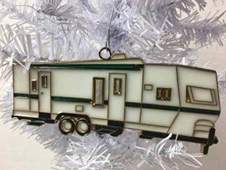 RV Travel Trailer Christmas Tree Ornament